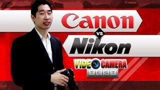 Canon 600D vs Nikon D7000 DSLR Video Camera Review