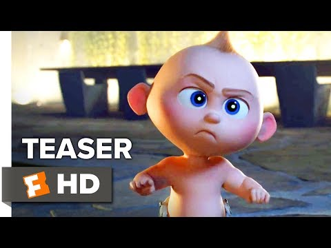 Incredibles 2 Teaser Trailer (2018) | 'Suit Up'