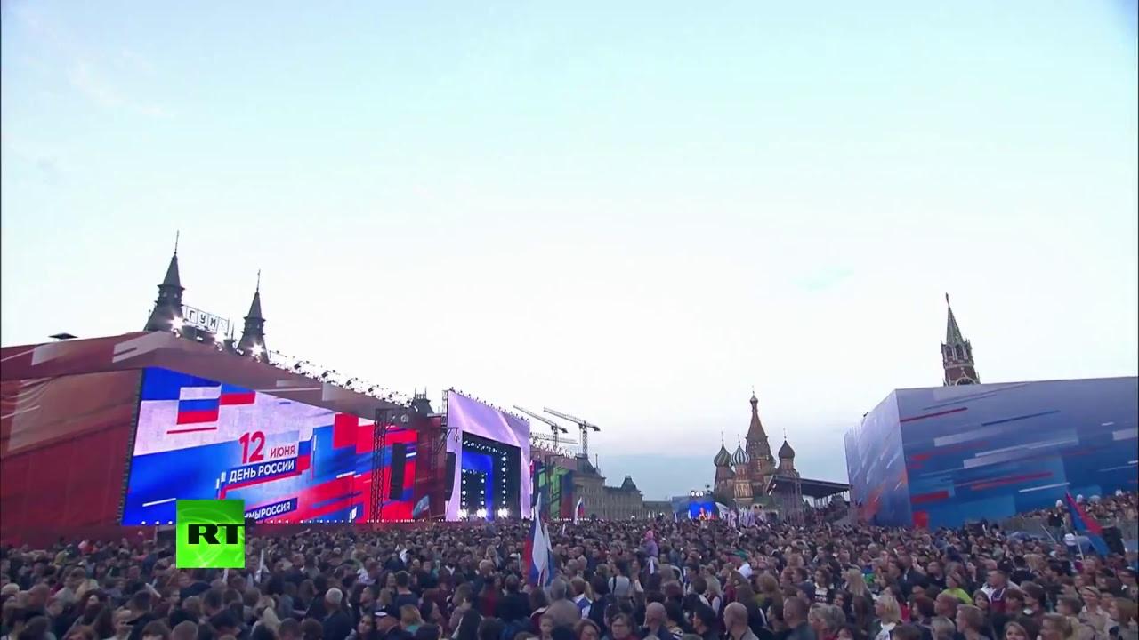 Праздничный концерт на Красной площади