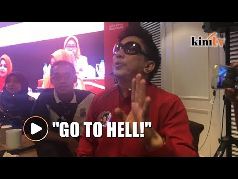 Azwan to Sheila Majid: Go to hell! Use a bit of common sense