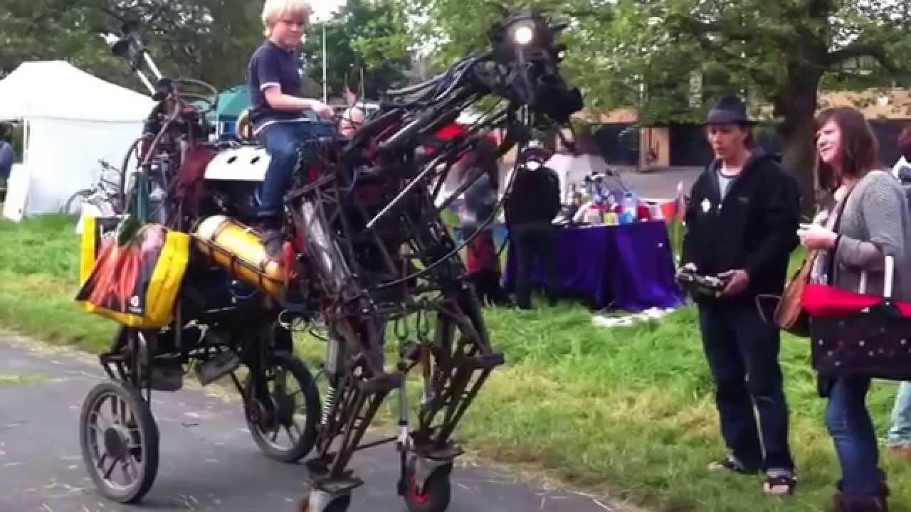 Deviantarts Robot Horse: Kid Riding On A Robotic Horse!