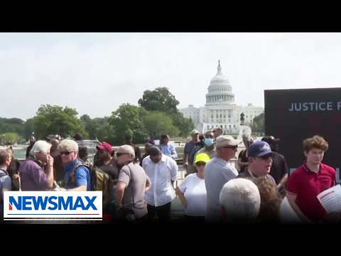 Media outnumbers protesters at 'Justice for J6' rally | REACTION | The Count
