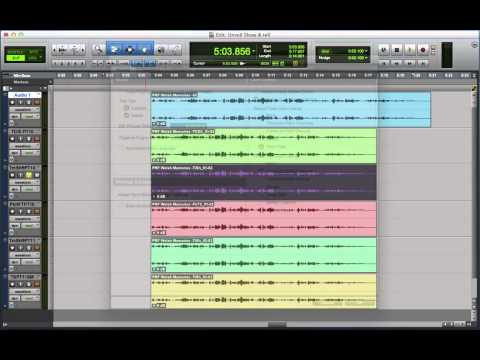 Pro Tools Time Compression & Expansion Algorithms Show & Tell