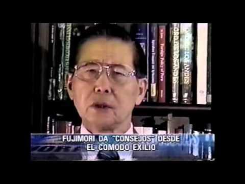 """Desde el Japón el expresidente Fujimori criticó estrategia antisubversiva actual """"24 horas"""""""