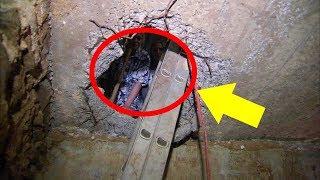 Woman's Basement Floor Suddenly Collapses And Reveals The Secret Hidden Underneath