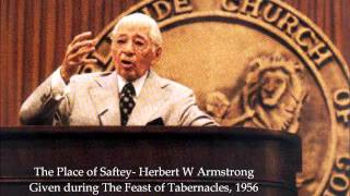 the place of safety herbert w armstrong