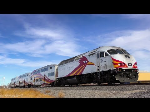 Happy Holidays to New Mexico Amtrak, NMRX, and BNSF Crews!
