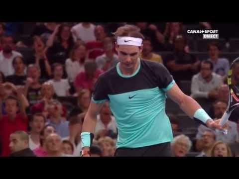 Paris-Bercy Masters 2015 : Rafael Nadal vs Stanislas Wawrinka (1/4 Finale), Highlights HD
