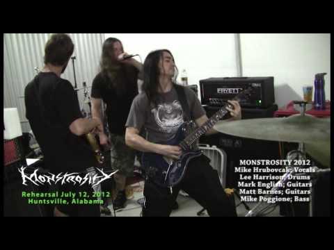 Monstrosity - Rehearsal July 12, 2012 - Huntsville, Alabama