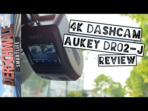 4K Dashcam Aukey DR02-J 🚙 Die Beste 4K DashCam 2019? | Review | #DR02j #dr02aukey #dashcam4k
