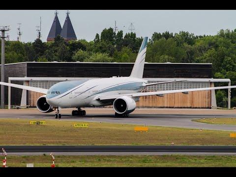 Private Boeing 777-200 [VP-CAL] - takeoff @ Berlin-Tegel Airport!