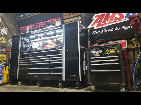 Repeat New Matco Tools, Shop and Tool Box Tour by Crossroad