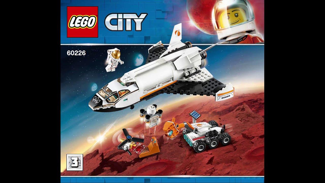 lego city mars research shuttle
