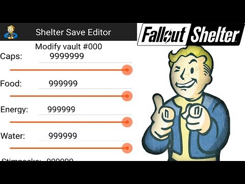 Fallout Shelter HACK (Save Editor) App *No Root/Jailbreak*