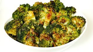 Roasted Broccoli with Garlic and Lemon Recipe
