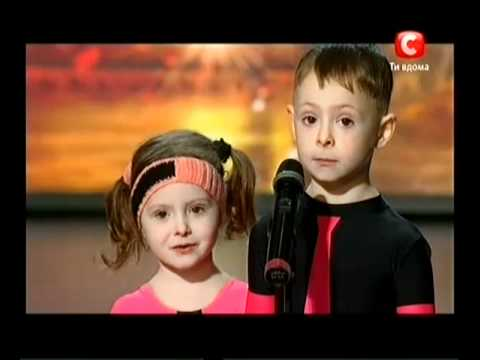 Украна ма талант-3 Киев - Рина и Ринат акробаты