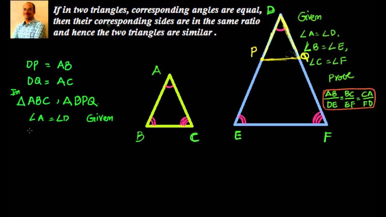 10th Class Similar Triangles Videos Part 2 Digital Learning Digital Learning Similar Triangles Learning