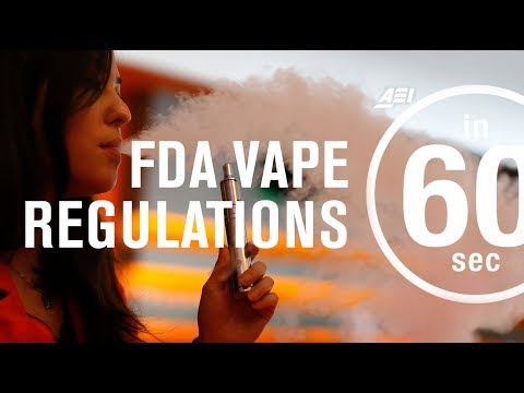 Vaping: Reshaping the FDA's regulations | IN 60 SECONDS