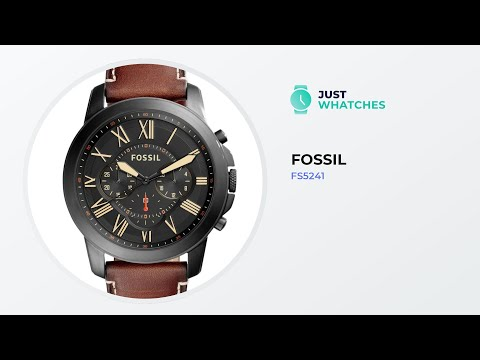 Fossil FS5241 Watches For Men Detailed Specs, Prices, Features