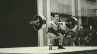 1962 World and European Weightlifting Championships, 60 kg class.