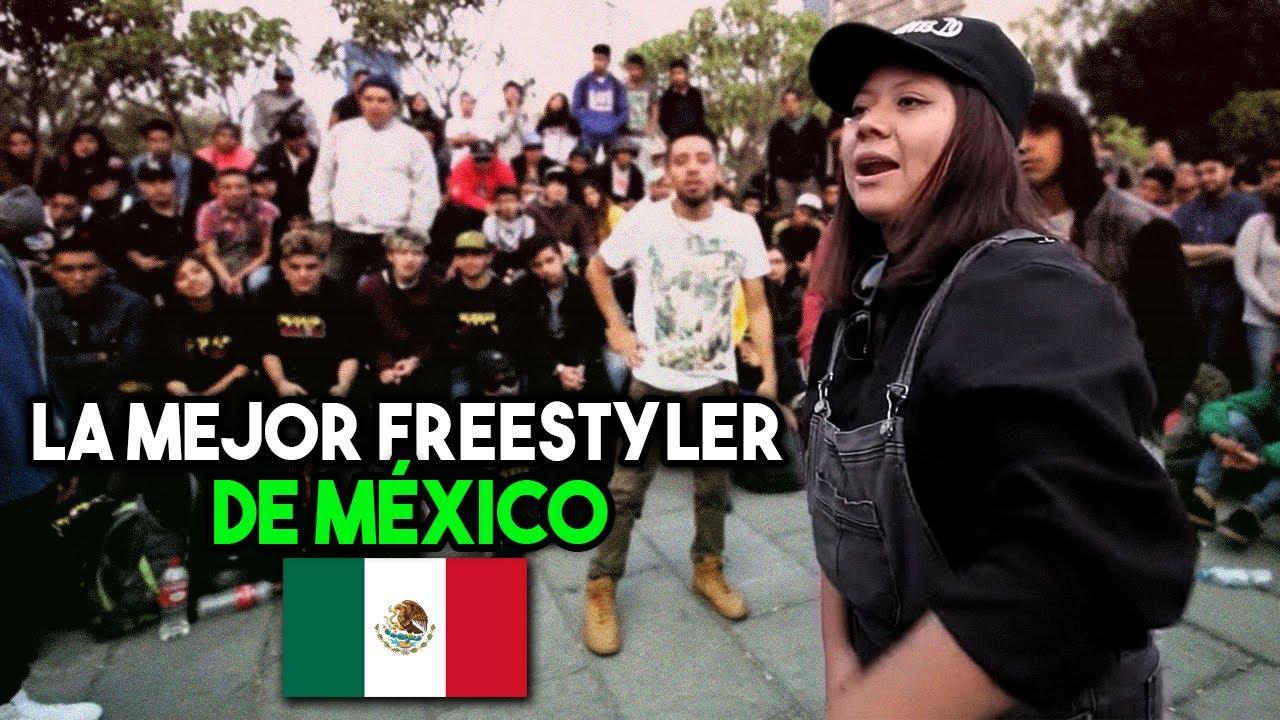 La MEJOR FREESTYLER de MÉXICO | Karey Cuevas