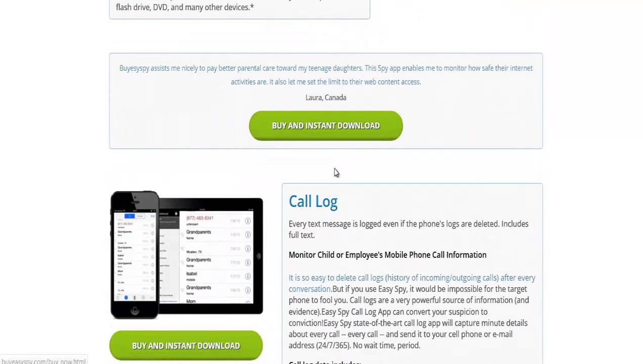 Powerfull Features in Free XySpy Application? Don't wait and download now!