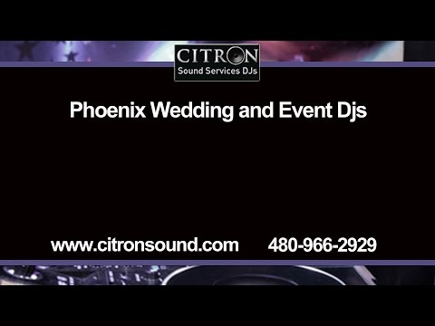 Phoenix Wedding and Event DJ Services