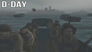 Medal of Honor Frontline - D-Day Mission Gameplay