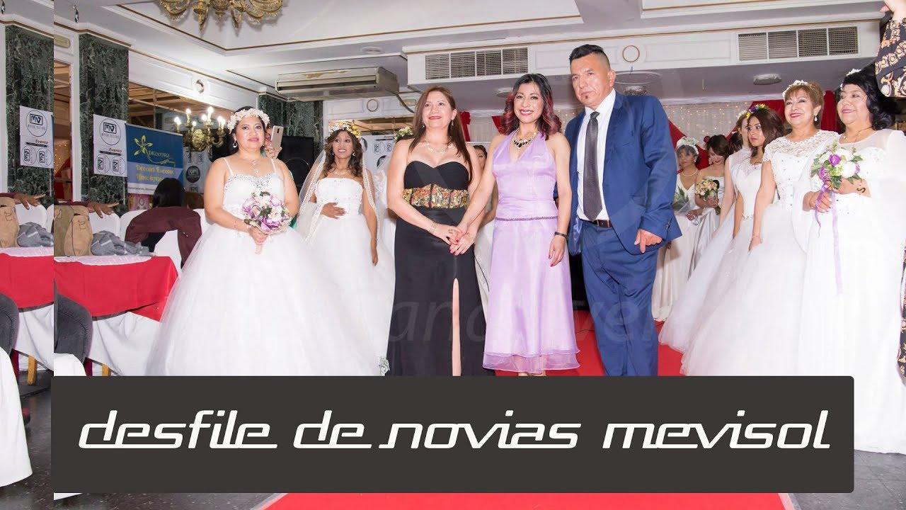 Novias De Canalevento Primer Desfile Mevisolamp; PnX8wOk0