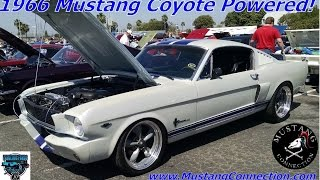 DIY 1966 Mustang Fastback with a Ford Racing 5.0 Coyote and 6 speed swap
