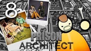 Prison Architect | Новая территория и трудоустройство заключенных #8