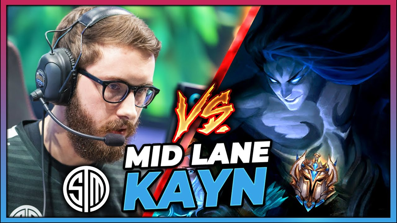 MY TEAM FORCED ME TO GO MID LANE AGAINST TSM BJERGSEN (HARDEST PRO MATCH UP YET!)- League of Legends