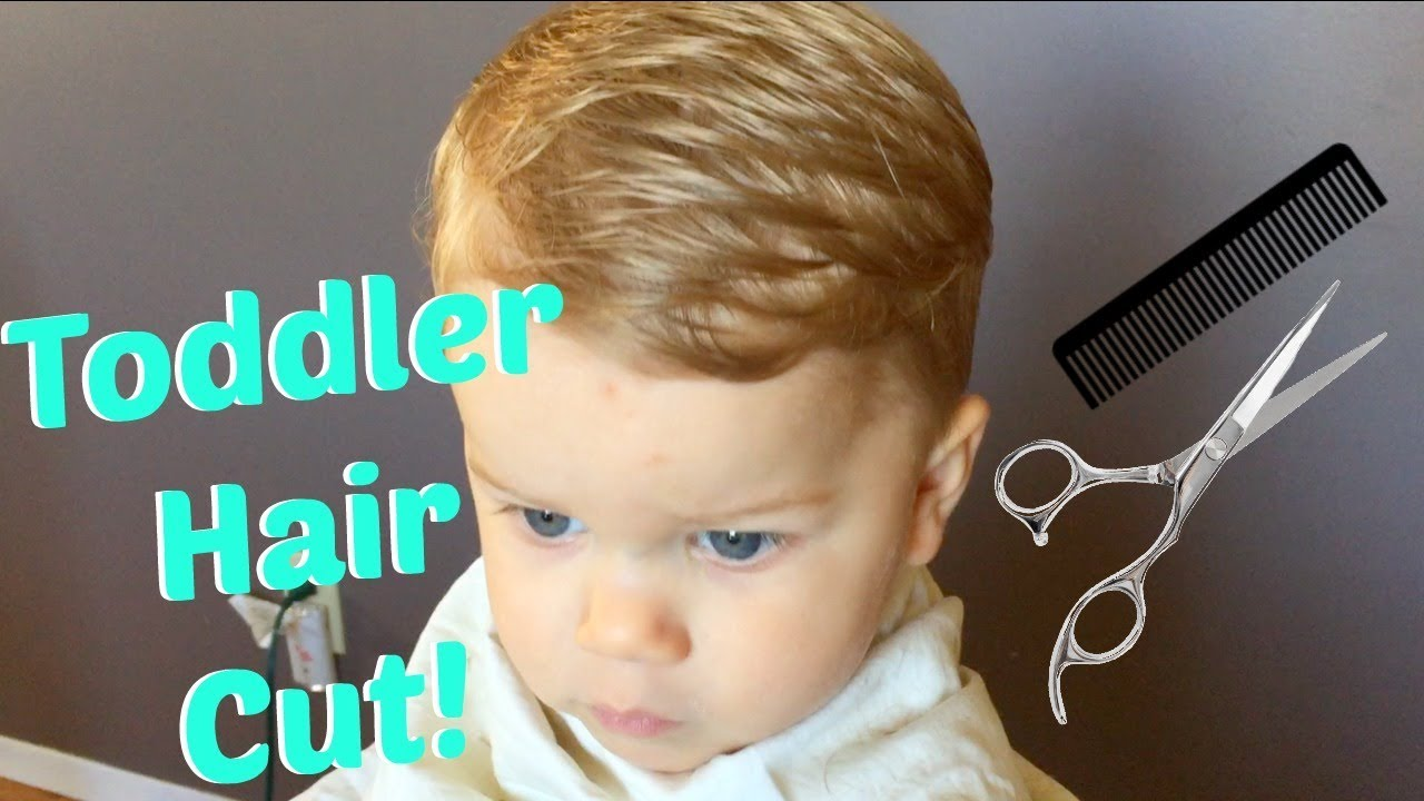 how to cut toddler boy hair
