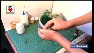 Cómo Hacer árboles para maquetas