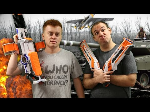 THE GREAT NERF WAR!