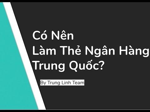 Có Nên Làm Thẻ Ngân Hàng Trung Quốc Để Mua Hàng Taobao?