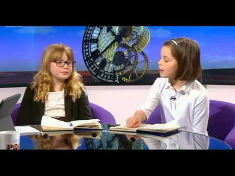 Ten year olds teach Andrew Neil how to do a political interview