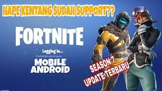 Download MOBILE ANDROID FORTNITE in Season 7 latest!