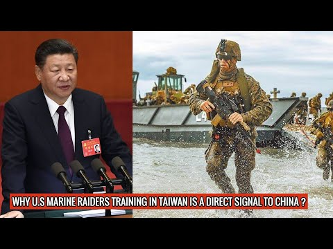 TAIWAN HAS ACKNOWLEDGED THAT U.S MARINE RAIDERS ARE IN THE COUNTRY & TRAINING TAIWANESE TROOPS !