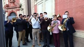 Sopresa Boda Pedro y Carmen, Marcha Presentado a Sevilla, 7 de marzo del 2015