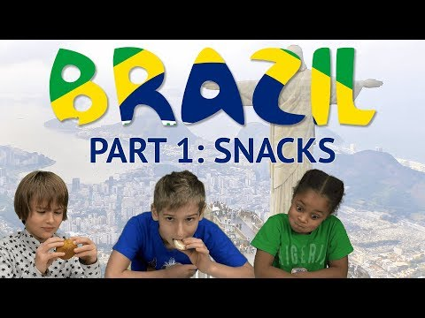 German Kids try Brazilian Snacks Part 1