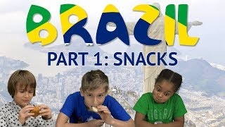 Baixar German Kids try Brazilian Snacks (Part 1)