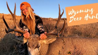 Wyoming Big Buck Down! Rifle Hunting with Azyre