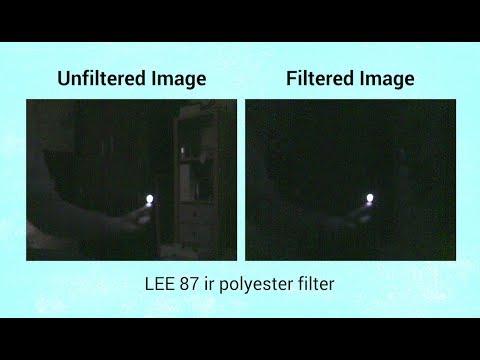 IR filters   LEE 87 IR polyfilter vs floppy disk material