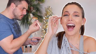 MY BROTHER DOES MY MAKEUP...WOW HE SUCKS
