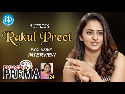 Actress Rakul Preet Singh Exclusive Interview | Dialogue With Prema |Celebration Of Life #24 || #339