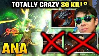 Ana Windranger 36 Kills - Totally Crazy Game