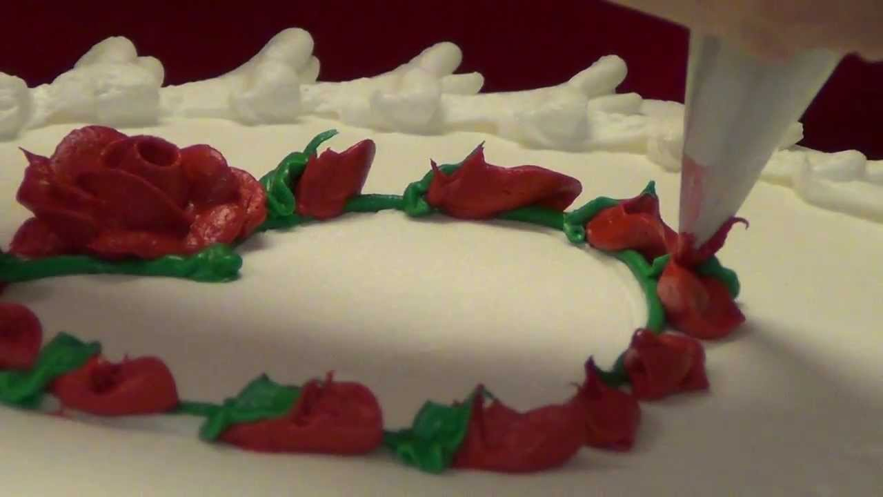Make A Valentine S Day Cake Using A Cookie Cutter Youtube