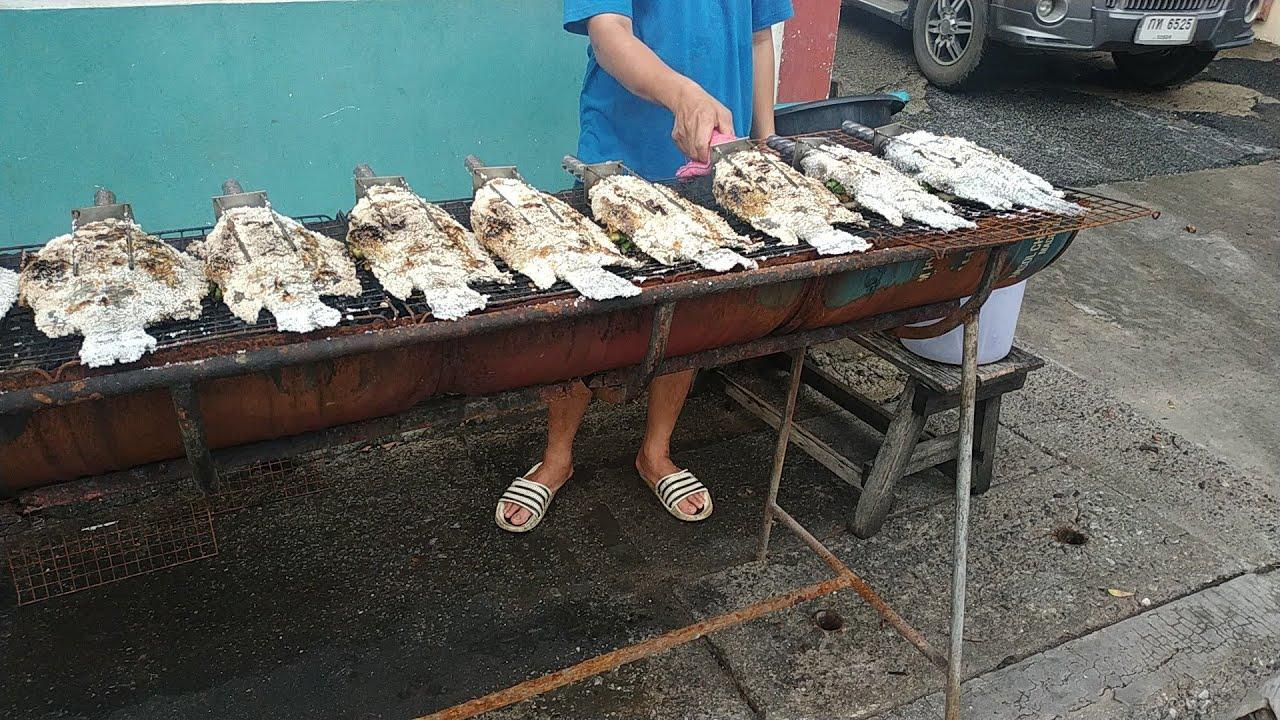 เมี่ยงปลาเผา,ปลาย่างเกลือEP.62/กินง่ายๆสไตล์ชายบีSeason2
