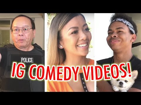 Thumbnail: MY DAD'S A COP! INSTAGRAM COMEDY VIDEO COMPILATION ft. DonB, Papa V, DangMattSmith | Liane V